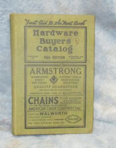 1924 Hardware Age Buyers Catalog Vintage by TheOldGrainery on Etsy