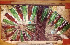 manualidades recicladas botellas de vidrio - Buscar con Google