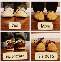 The 20 Most Beautiful Ways to Announce Your Pregnancy. what cute ideas for the future :)