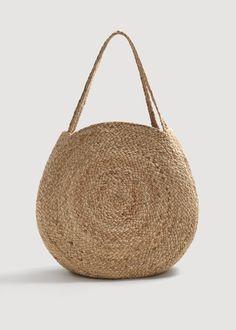 Mango Jute Bucket Bag