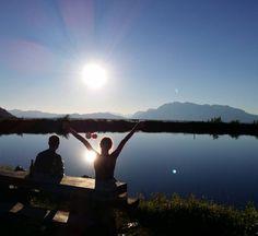 Abendausklang #friends #sunset #grafenberg