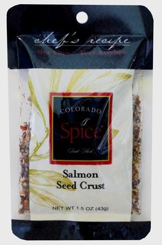 Salmon Seed Crust- not just for Salmon. Your beef will be top-notch with this flavor!
