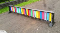Rainbow Ladder : simple, but oh so colorful!