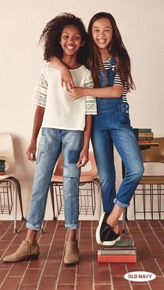 The two best parts of going back to school? New clothes and seeing your BFF every day.
