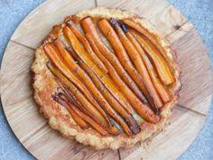 Tarte tatin aux carottes - wortel tarte tatin - carrot tarte tatin