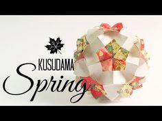 kusudama spring instructions (Tomoko Fuse) - YouTube
