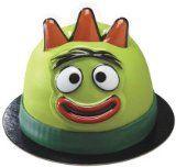 Yo Gabba Gabba! Brobee Face Cake Topper