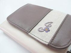Iphone 4 case leather -card holder- wallet- all in one | thehouseofsaigon - Accessories on ArtFire