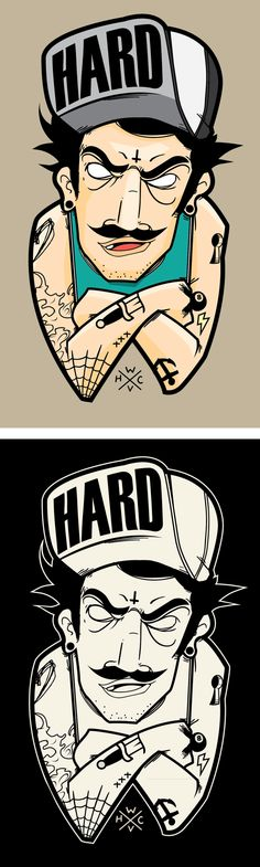 HARD ROW by Daniel Acosta, via Behance