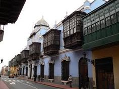 Image result for built in wooden balconies colonial buildings