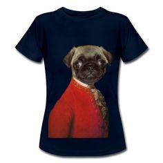 Pug is the new Mozart - Tee shirt Femme