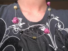 A Beautiful Necklace with Pink Magnesite beads by ChacaJewelry, $16.00