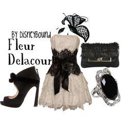 Fleur Delacour by Disneybound
