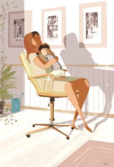 Mommy's arms. #pascalcampion #saturdays #family