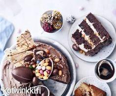 Herkut suklaamunista syntyvät helposti.