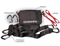 Quarantine™ Accessory Pack / QAB-ACP Truck Bed Net, Cargo Net, All In One, Packing, Bags, Accessories, Bag Packaging, Handbags, Bag