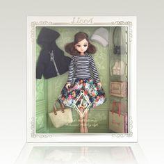 第4弾 リカ スタイリッシュドールコレクション 「ボタニカルホリデー スタイル」