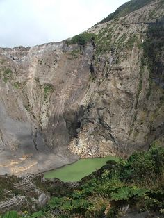 Volcán Irazú, Cartago. Costa Rica