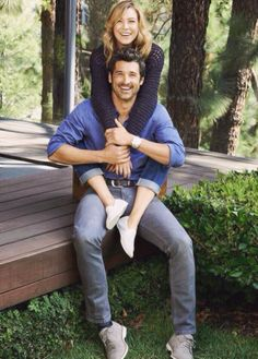They're seriously the cutest couple omg. I need to find someone that makes me smile the way Derek makes Mer smile