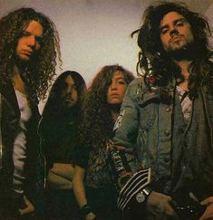 old band shot from or so Black Heart, My Black, White Zombie Band, Heavy Metal Fashion, Band Photos, Image Of The Day, Hard Rock, Music, Metallic