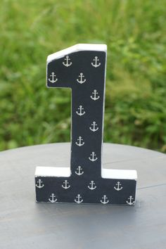 Birthday Photo Prop Navy Anchors 1 photo Prop by DaydreamingKat, $9.75
