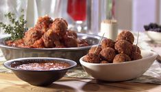 Just wanted to share this delicious recipe from Lidia Bastianich with you - Buon Gusto! MEATLESS MEATBALLS WITH CHEESE AND QUINOA