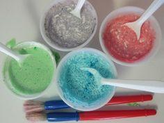 Painting with kool-aid in preschool | Teach Preschool