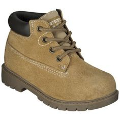 Toddler Boys French Toast Work Boot - - Wheat