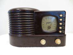 винтажный 1939 старый Zenith арт деко ЭПОХА ДЕПРЕССИИ бакелитовая трубка радио in Бытовая электроника, Винтажная электроника, Винтажное аудио и видео, Винтажные радиоприемники | eBay