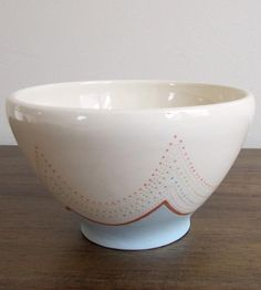 Scalloped Terracotta Bowl