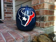 Texans pumpkin spirit!!!