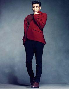 Yoon Shi Yoon - Harper's Bazaar Magazine December Issue '13