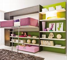 foldable bed hidden small space solution kokopelia