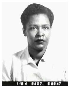 Billie Holiday was photographed by Bureau of Prisons officials in May 1947. Holiday, 32 at the time, was locked up for eight months in the federal prison in Alderson, West Virginia on a drug conviction. She died in 1959 at age 44.