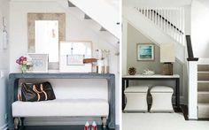 Aprovechar espacios bajo la escalera usos alternativos.