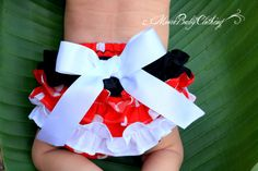 Minnie Mouse Ruffle Baby Bloomers