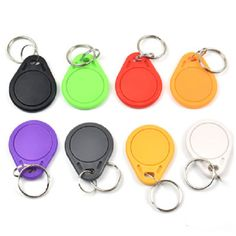 Special Section 1pcs T5577 Copy Rewritable Writable Rewrite Keyfobs Rfid Tag Key Ring Card 125khz Proximity Token Badge Duplicate Back To Search Resultssecurity & Protection