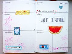 Jenny's Sketchbook: Sketchbook Journal - June