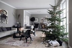 getting ready for Xmas in a home in Denmark