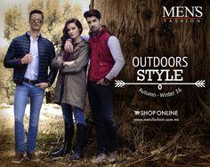 Descubre los elementos más #fashion, atrevidos y modernos del otoño en nuestra colección #OutDoorsStyle.   Dale clic➡️➡️➡️ https://goo.gl/uTYa5i