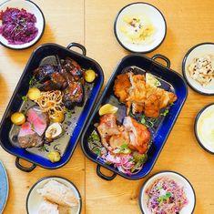 Sdílené pekáčky v restauraci Sou100 Restaurant Guide, Fine Dining