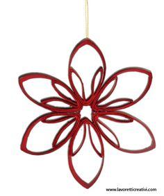 Decorazioni Natale – Come realizzare una stella