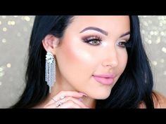 Glowing Birthday Glam Makeup Tutorial - YouTube