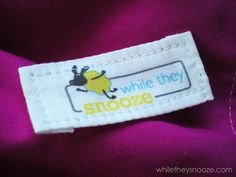 Great tutorial on making your own sewing/quilting labels