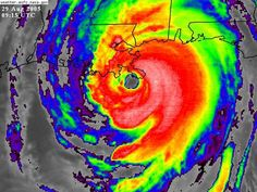 Hurricane Katrina made landfall near New Orleans, killing more than 1,800 people on August 29, 2005