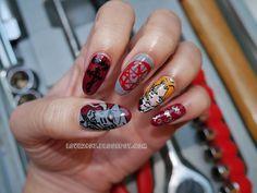 miss.love2807: Fullmetal Alchemist Nail Art
