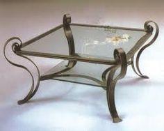 Resultado de imagen para mesas de centro en hierro forjado