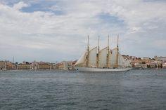 Bom dia Lisboa. Navio Creoula Fotografia: Américo Simas #lisboa
