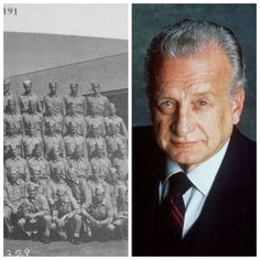 George C. Scott-Marines-WW2-1945-49-taught English Lit & radio speaking/writing at the Marine Corps Institute. He was an honor guard for military funerals at Arlington. He later claimed his duties at Arlington led to his drinking. (Actor)top row right