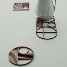 Outline Circle Topfuntersetzer - Ferm Living - Ferm Living - RoyalDesign.de